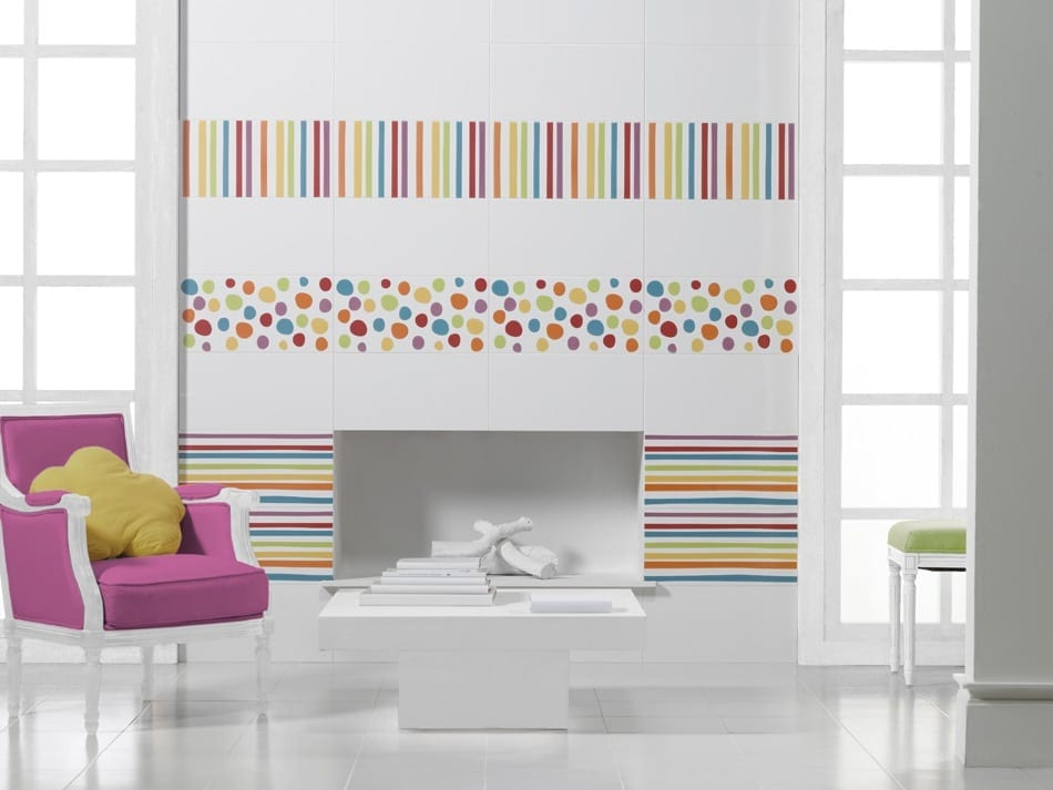 carrelage agatha ruiz de la prada 25x50 fa ence lignes. Black Bedroom Furniture Sets. Home Design Ideas