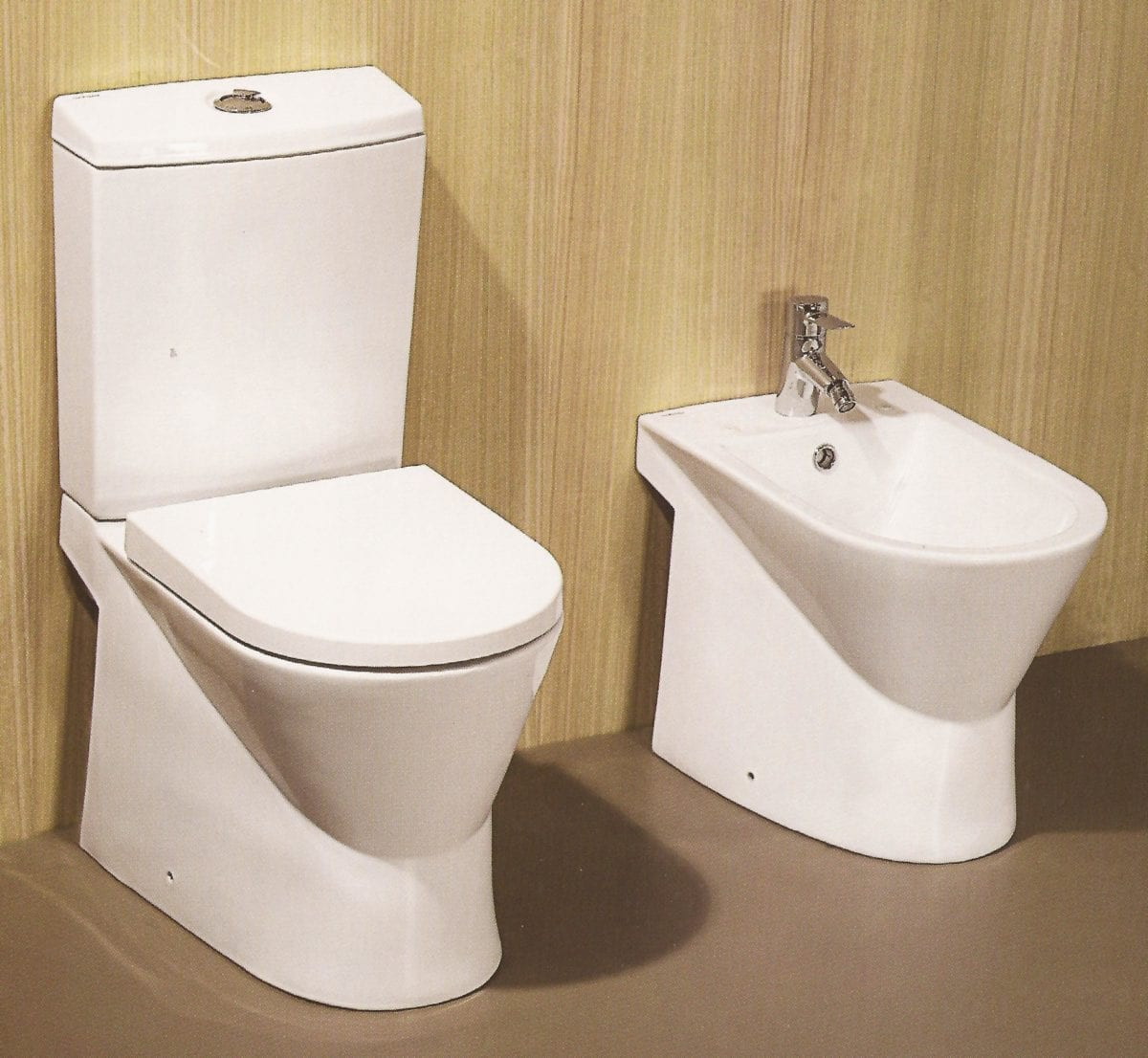 wc poser design sanindusa urb y c ramique avec abattant. Black Bedroom Furniture Sets. Home Design Ideas