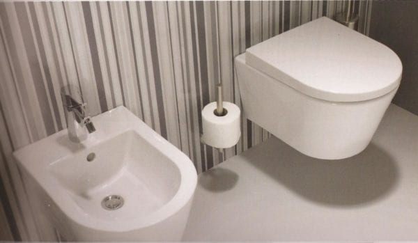 WC suspendu design SanIndusa Urb.y