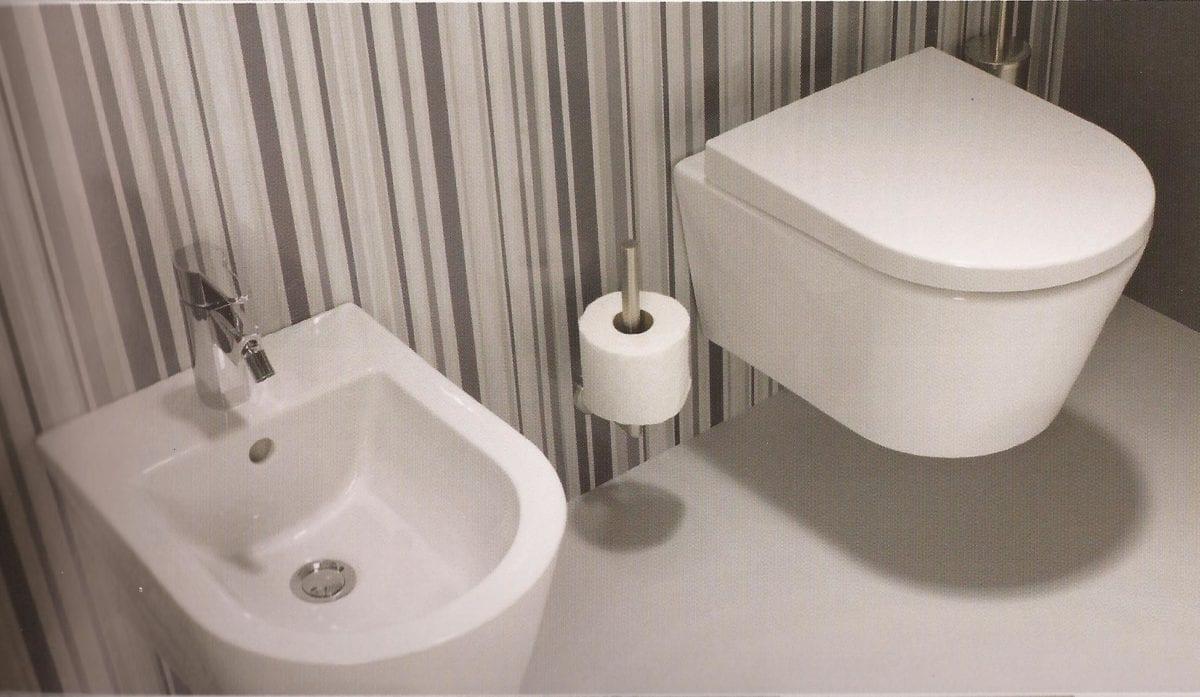 wc suspendu design sanindusa urb y c ramique avec abattant mamaison. Black Bedroom Furniture Sets. Home Design Ideas