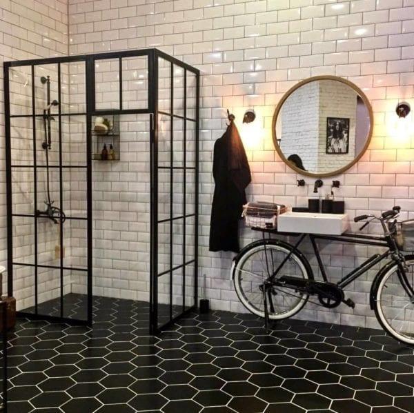 carrelage metro blanc salle de bain