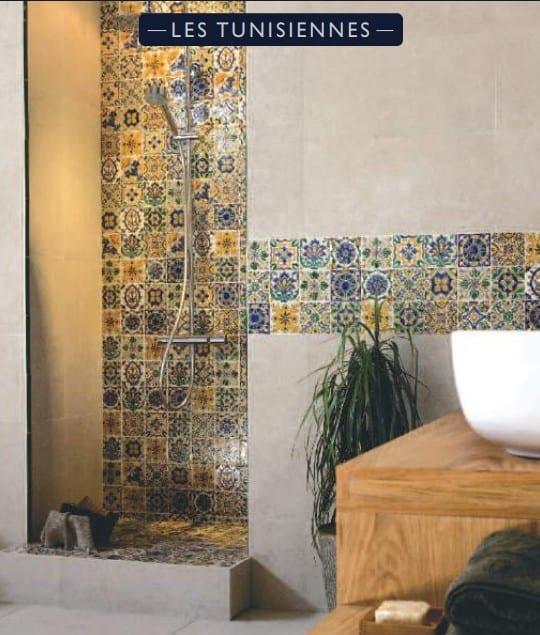 Carrelage DOREMAIL décor Méditerranéen, Provençal, Tunisien, Mexicain