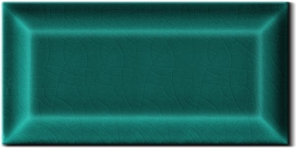 Carrelage Metro couleur - Vert turquoise - Diffusion Céramique