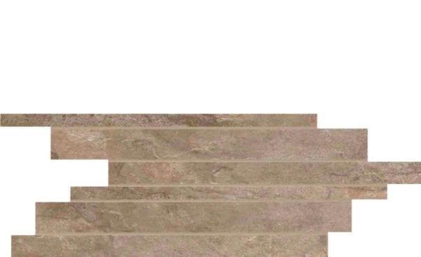 Carrelage UNICOM STARKER Natural Slate - Décor Muretto AUTUMN