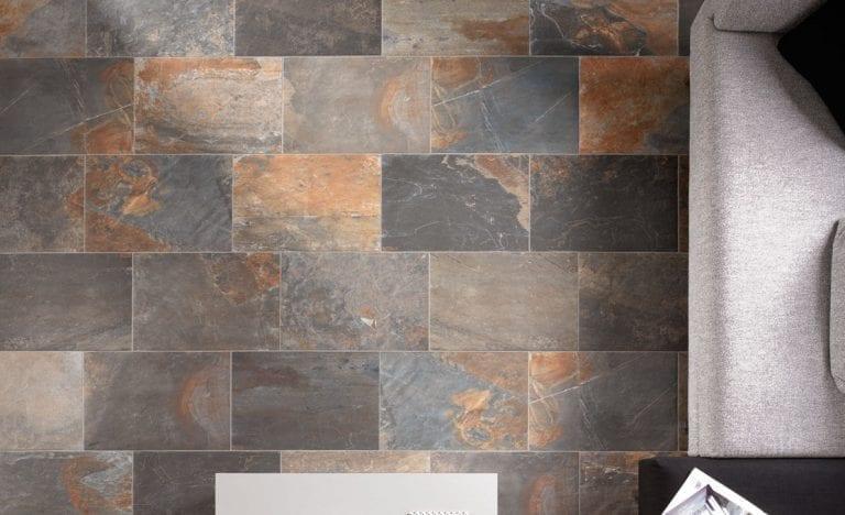Carrelage imitation pierre - Unicom Starker Natural Slate - MULTICOLOR