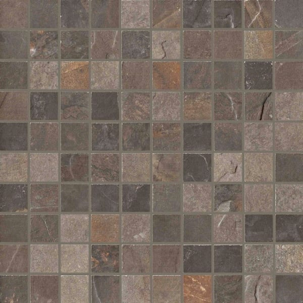 Carrelage mosaïque imitation pierre - Unicom Starker Natural Slate - MULTICOLOR