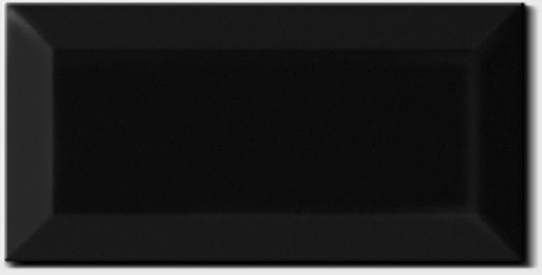 Carrelage Metro noir mat - Diffusion Céramique