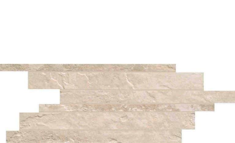 Carrelage UNICOM STARKER Natural Slate - Décor Muretto WINTER