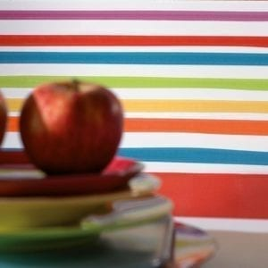 Carrelage Agatha Ruiz de la Prada Lineas 1 multicolore - Faience Pamesa Ceramica