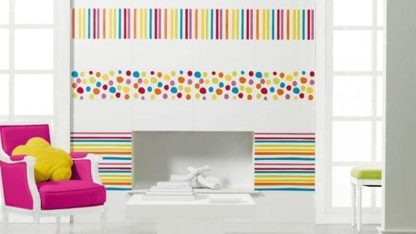 Carrelage Agatha Ruiz de la Prada - Faience Party Lineas 2