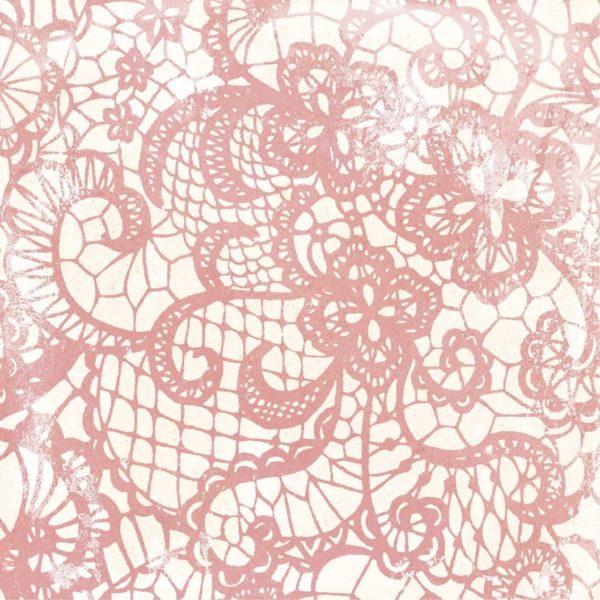 Carrelage sol imitation carreaux de ciment - patchwork Codicer PERSEO Mix - Rose