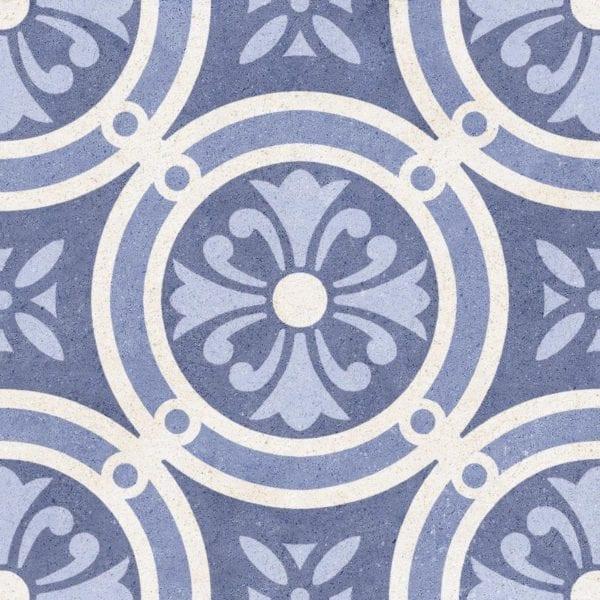 Carreaux imitation ciment Codicer Vintage - ex. motif MIX AZUL