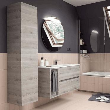 Salgar FUSSION LINE - Meuble salle de bain 1055 - PIN BAHIA