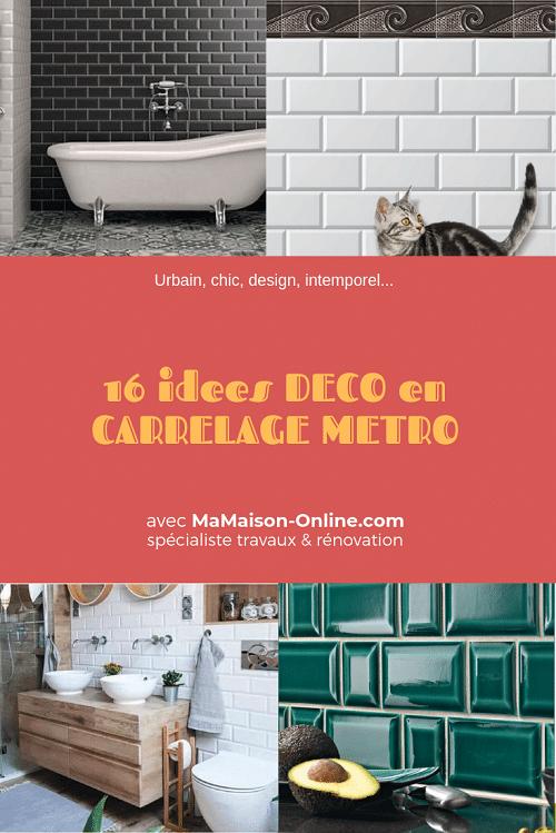 Tout Sur Le Carrelage Metro Nos Carreaux Pose Idees Deco Finitions