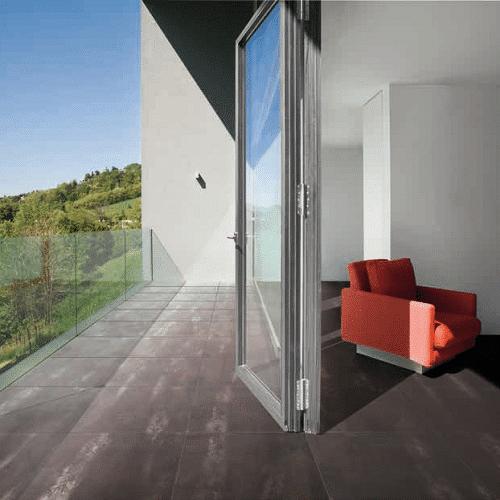 Carrelage portugais imitation pierre MAGMA Recer - couleur Cinza