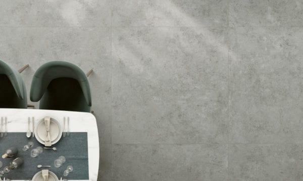 Century GLAM carrelage imitation pierre - coloris GRIGIO - 120x120cm