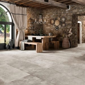 Carrelage imitation pierre Century OLD STONE - coloris GREYSTONE 60x120cm