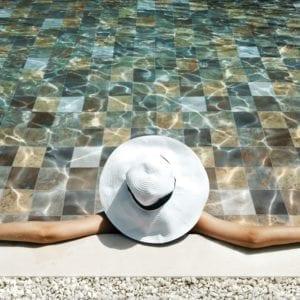 carrelage sol piscine Pierre de Bali - SAIME Phoenix en grès cérame
