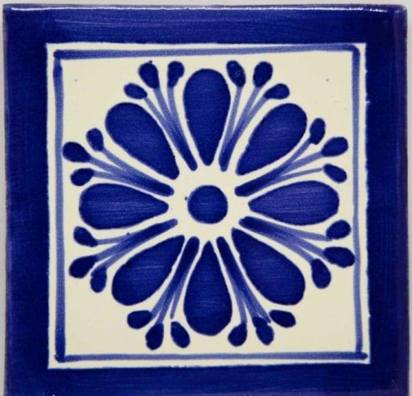 Carrelage mexicain Colibri Azulejos - AMAPOLA PLUMA