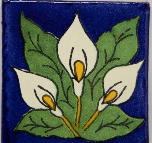 Carrelage mexicain Colibri Azulejos - AROMES (ARUMS)
