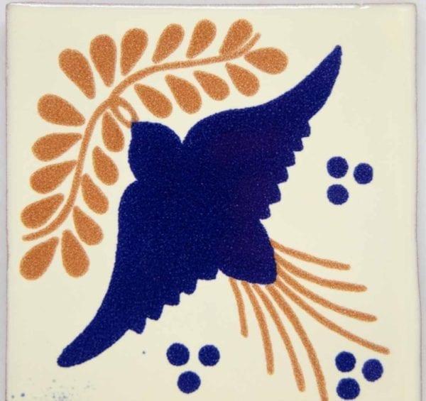 Carrelage mexicain Colibri Azulejos - PALOMBA