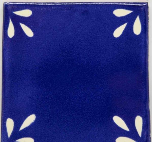 Carrelage mexicain Colibri Azulejos - SEVILLE BLANC BLEU