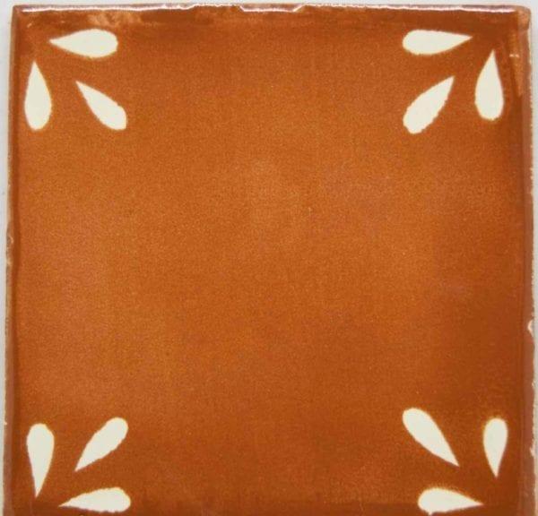 Carrelage mexicain Colibri Azulejos - SEVILLE BLANC CHAMOIS