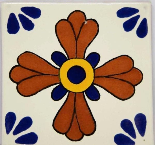 Carrelage mexicain Colibri Azulejos - SEVILLE BLEU