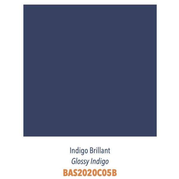 Carrelage couleur brillant ou mat Diffusion Céramique Coin Déco - LES ESSENTIELS - INDIGO BRILLANT