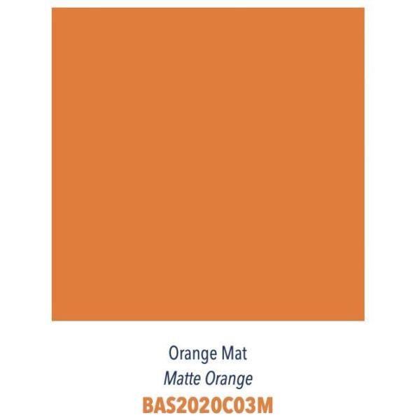 Carrelage couleur brillant ou mat Diffusion Céramique Coin Déco - LES ESSENTIELS - ORANGE MAT