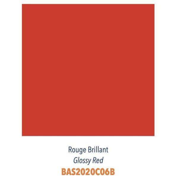 Carrelage couleur brillant ou mat Diffusion Céramique Coin Déco - LES ESSENTIELS - ROUGE BRILLANT