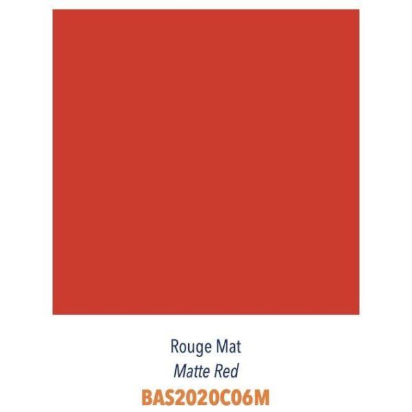 Carrelage couleur brillant ou mat Diffusion Céramique Coin Déco - LES ESSENTIELS - ROUGE MAT
