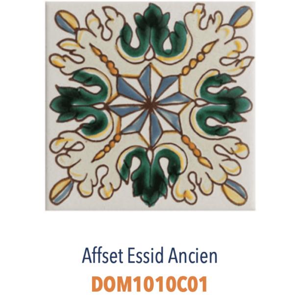 Carrelage méditerranéen tunisien DOREMAIL - AFFSET ESSID ANCIEN