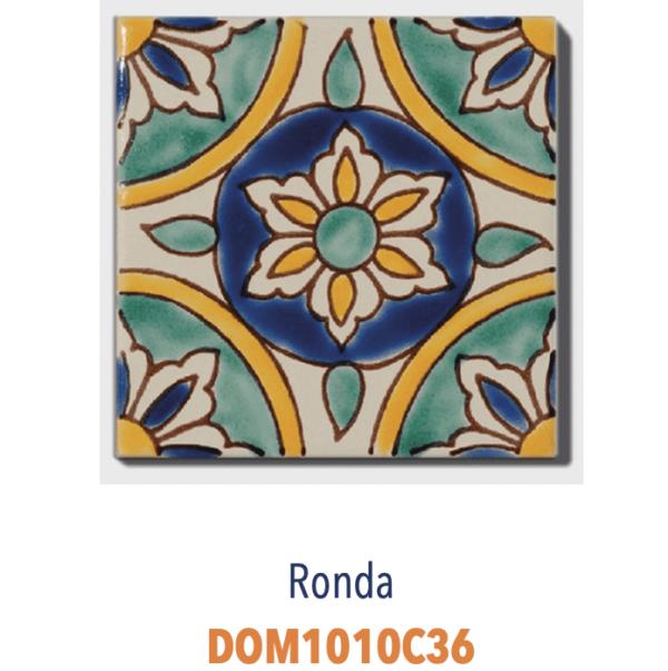 Carrelage méditerranéen tunisien DOREMAIL - RONDA