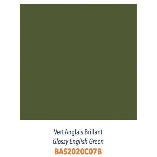 Carrelage couleur brillant ou mat Diffusion Céramique Coin Déco - LES ESSENTIELS - VERT ANGLAIS BRILLANT