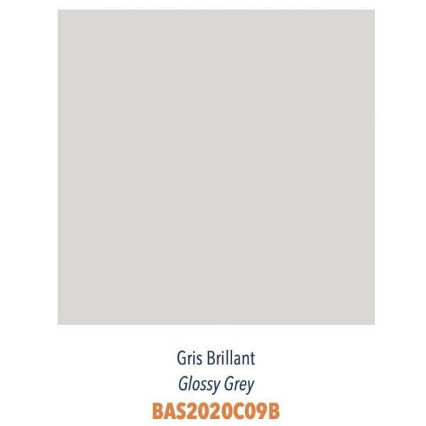 Carrelage couleur brillant ou mat Diffusion Céramique Coin Déco - LES ESSENTIELS - GRIS BRILLANT