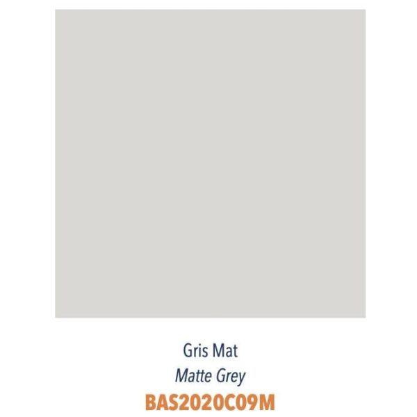 Carrelage couleur brillant ou mat Diffusion Céramique Coin Déco - LES ESSENTIELS - GRIS MAT