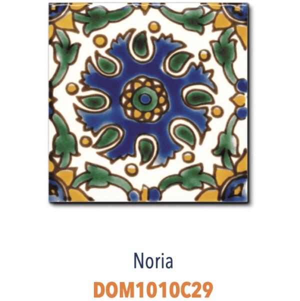 Carrelage méditerranéen Tunisie DOREMAIL - NORIA