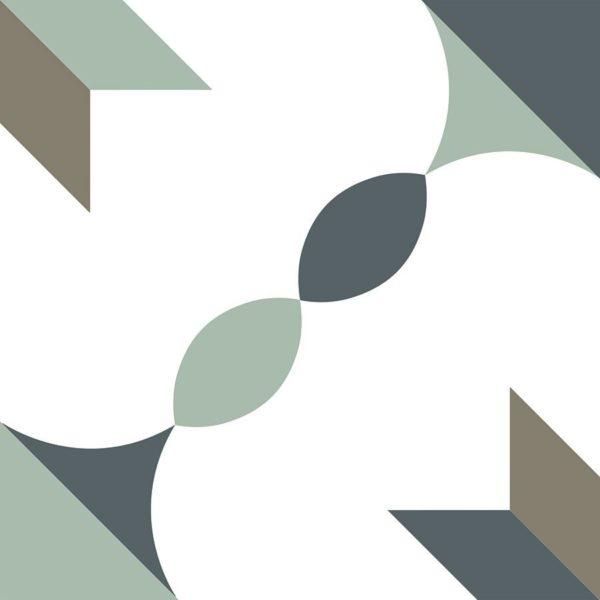 Carrelage imitation carreaux de ciment 20x20cm Nanda Metropolis - ADISON