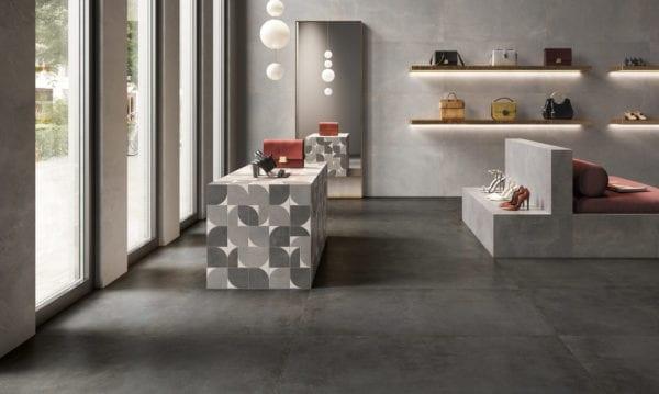 Carrelage BLEND de Century Ceramica : coloris URBAN et MASTER