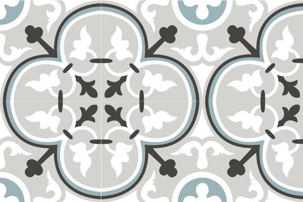 Carrelage imitation carreaux de ciment 20x20cm Nanda Metropolis - LEANDER