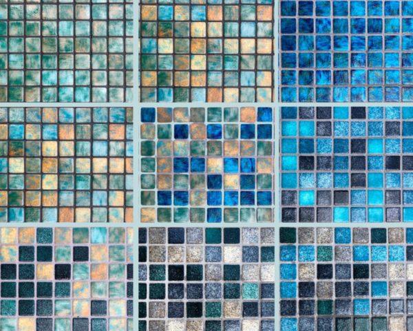 Mosaïque effet piscine Pierre de Bali - Reviglass PARADISE STONES